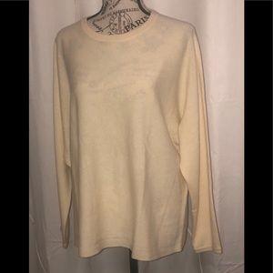J. Jill 100% Cashmere light weight sweater